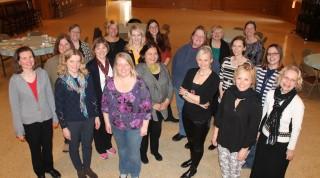 Indianapoles skolotāju konferences dalībnieki. Foto: Dace Ābeltiņa