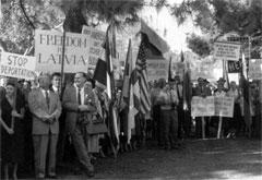 Demonstrācija Losandželosā