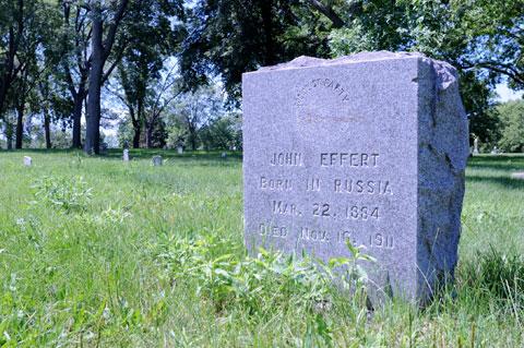 John Effert grave